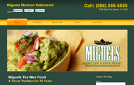 Restaurant Website Design Michigan Fast Food Mexican Chinese Italian Eatery Cafe Coffee Shop Flint Detroit Ann Arbor Lansing Saginaw Porth Huron